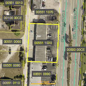 Parcel Arial View